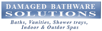 Damaged Bathware Solutions Baths Vanities Shower trays spas